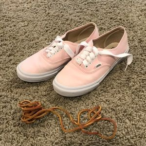 Women's light pink vans